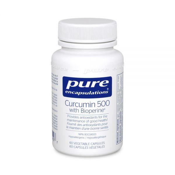 Curcumin 500 with Bioperine® - Holistic United