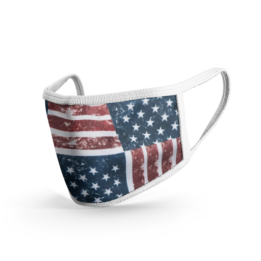 Premium Cloth Mask American Flag