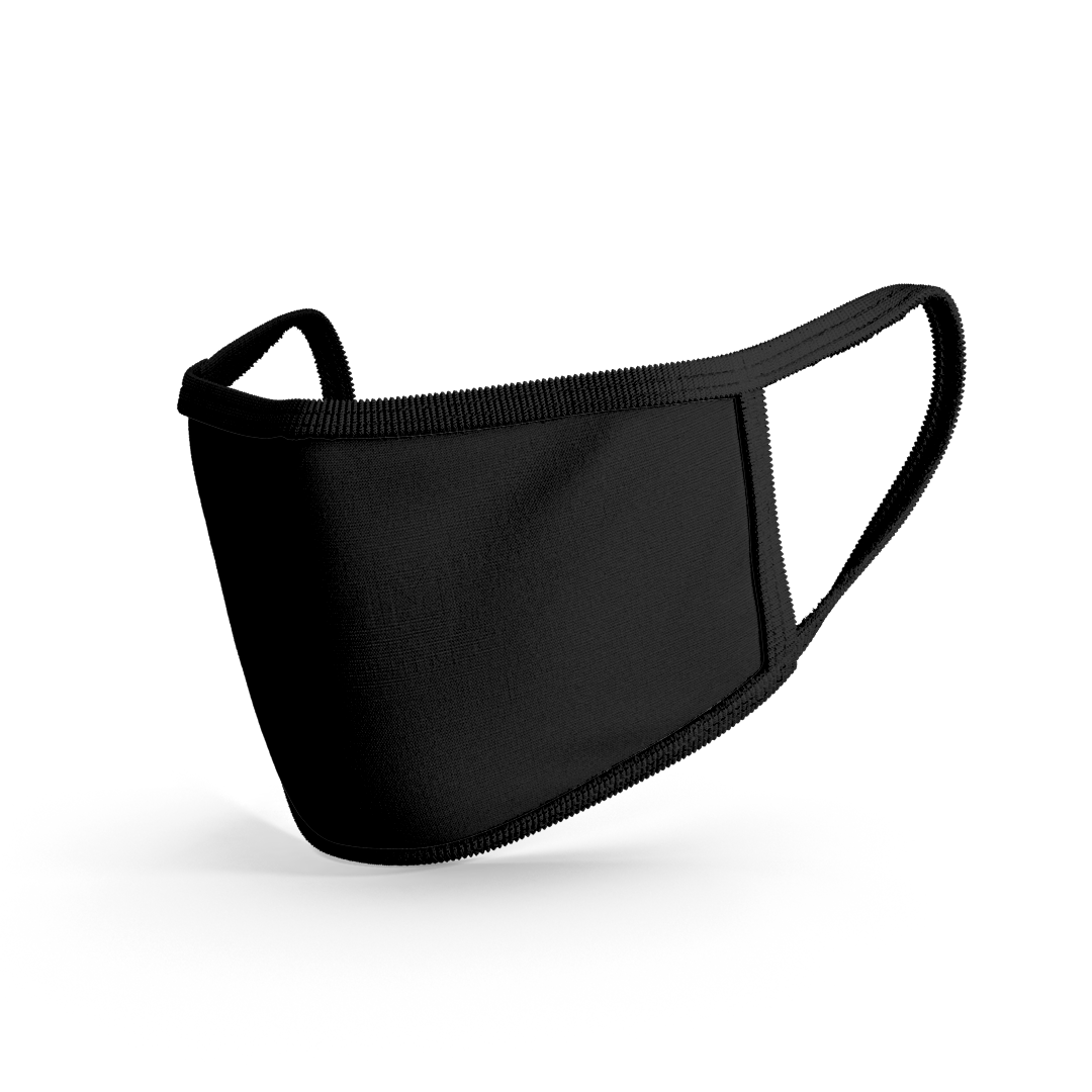 Premium Cloth Mask Black