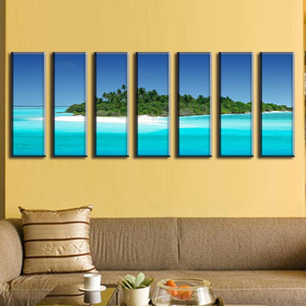 Modern Sea Life Wall Decor Image - The Wall Art Decorations ...