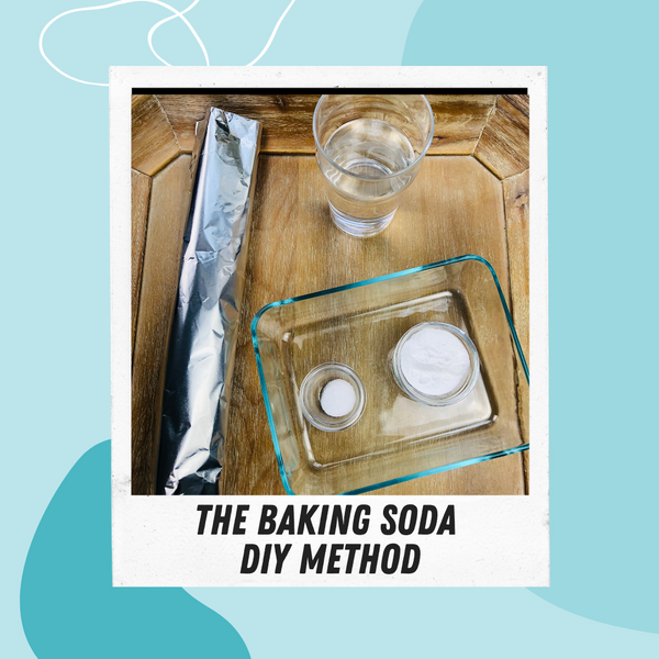 DIY Baking Soda Jewelry Cleaning Method by Asha Blooms