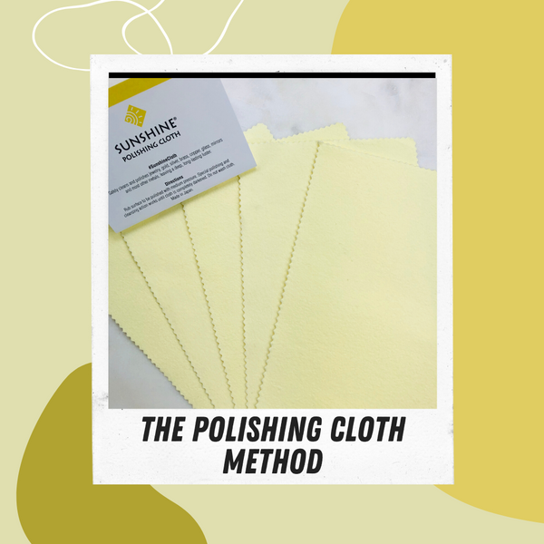 Polishing Cloth Jewelry Cleaning Method by Asha Blooms