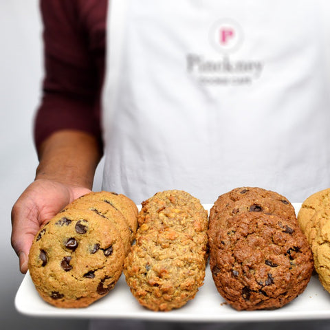 A cookie tray from Pinckney Cookie Cafe