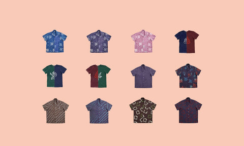 A variety of shirts from Post-Imperial