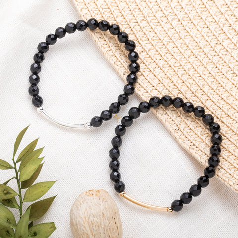 Onyx Bracelet | Strength, Confidence, Grounding