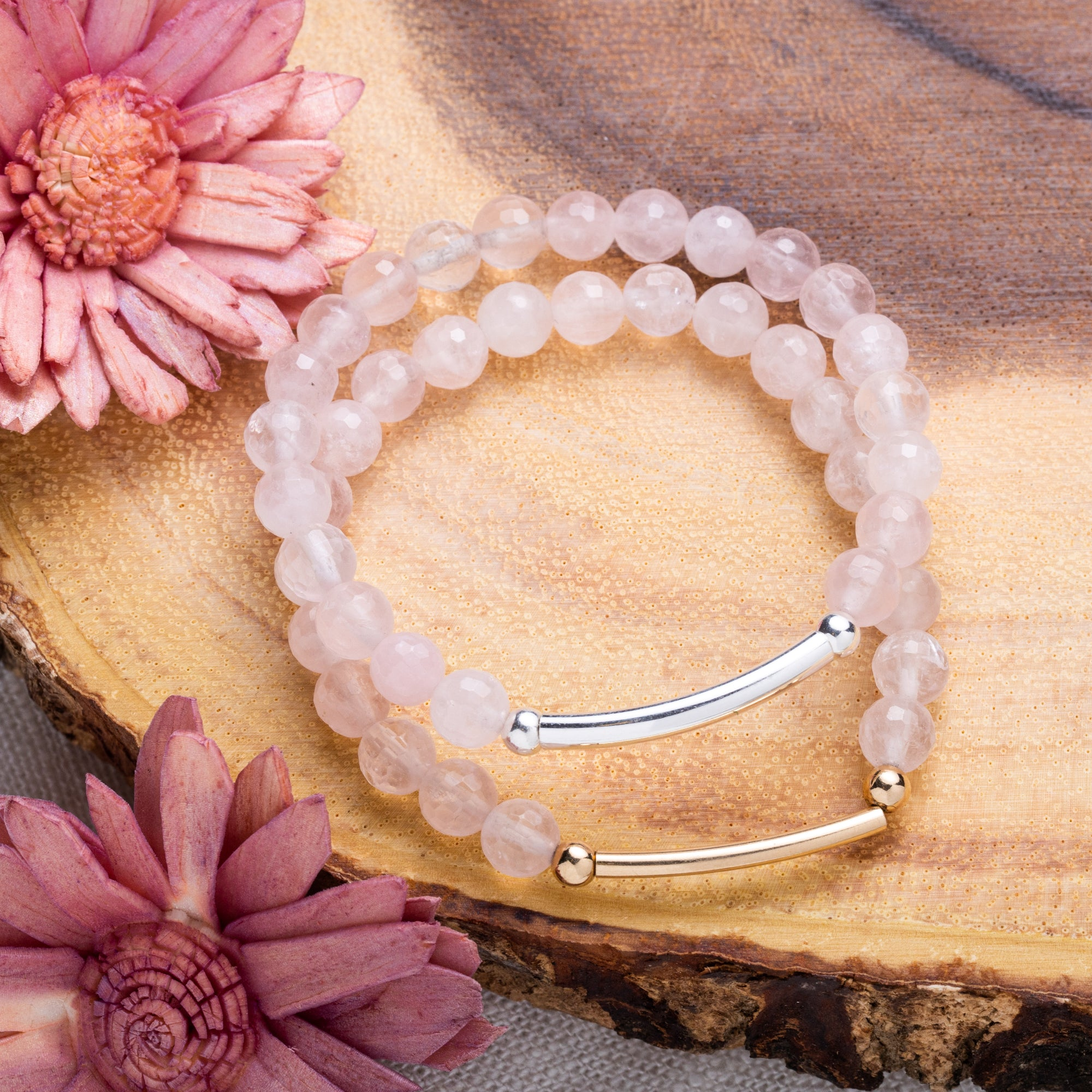 Rose Quartz Bracelet | Love