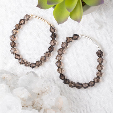 Smoky Quartz Bracelet | Power & Bravery