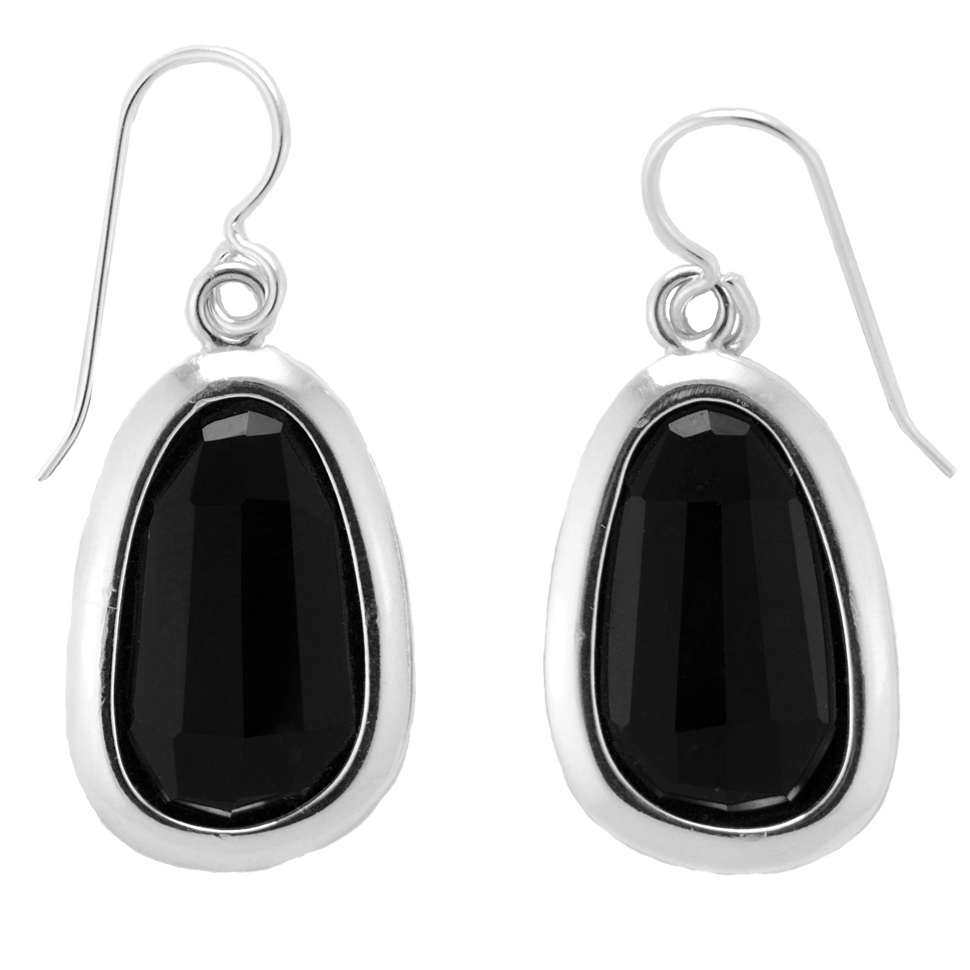 black jewelry michele onyx gold earrings mercaldo