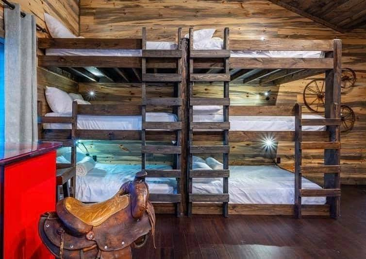 Triple Double Bunk Beds