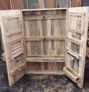 Rustic Jewelry Case