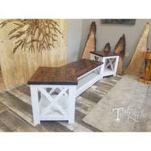 Farmhouse Coffee Table and End Tables - Living Room