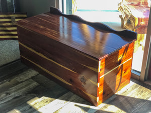 Handmade Wooden Chest