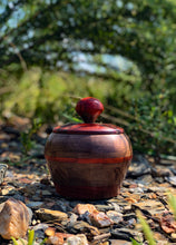 Handmade Wooden Jar
