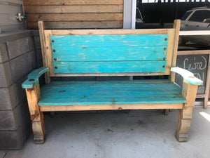 Red River Rustic Bench