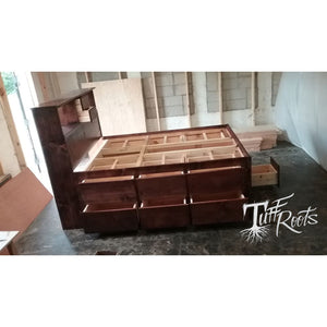 Mega Storage Platform Bed - Master Beds
