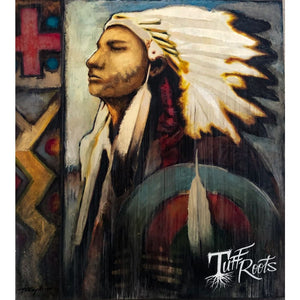 Native American Indian Oil painting - Painting
