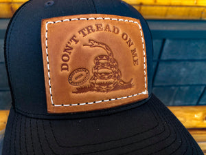 """We The People"" and ""Don't Tread On Me"" Leather Richardson Snapback Hats"