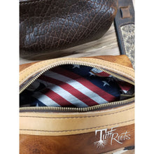 We The People leather to-go bag. - Leatherwork