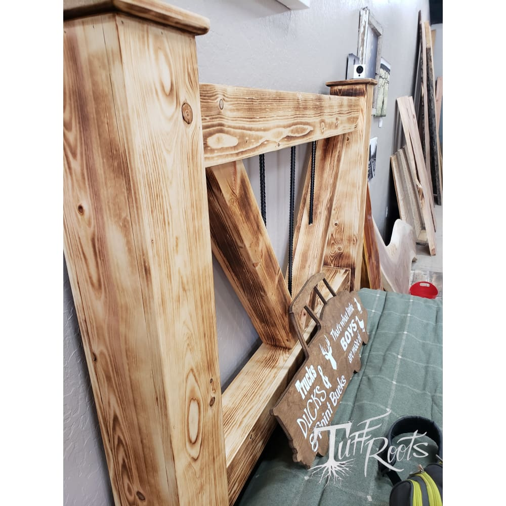 Wild West Cabin Bed King Size