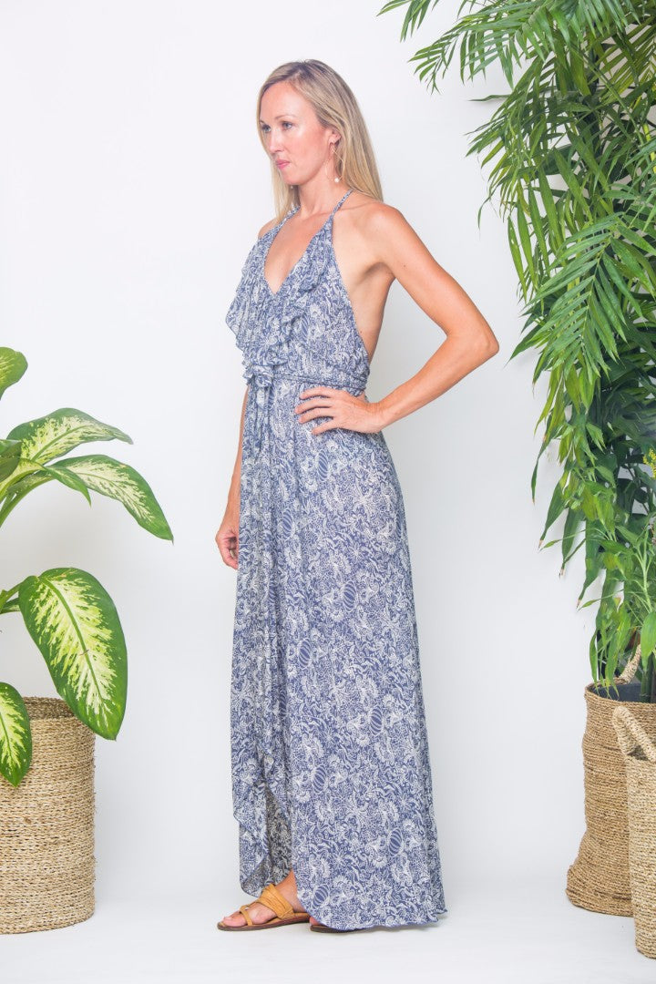 GOLDUST Gypsy Dress a floaty, light, feminine long dress that makes you feel like a princess.