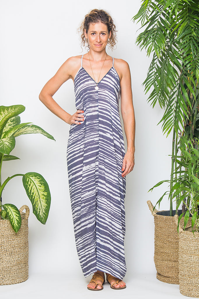 Long Sally Dress Tie Dye