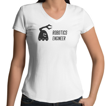 Robotics Engineer T-Shirt | Womens V-Neck Tee