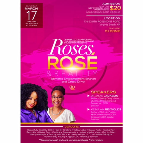 Roses & Rose Brunch