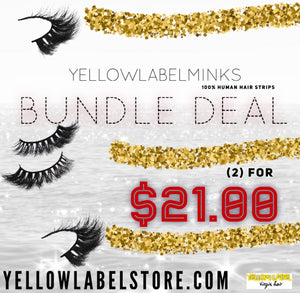 Yellow Label Minks Bundle Deal