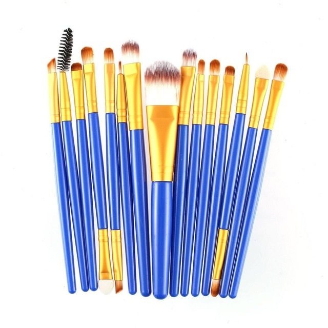 Makeup Brushes Sets Eyelash 15 pcs