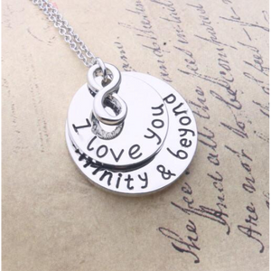 I Love You Infinity & Beyond Necklace
