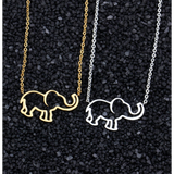 Elephant Pendant and Chain