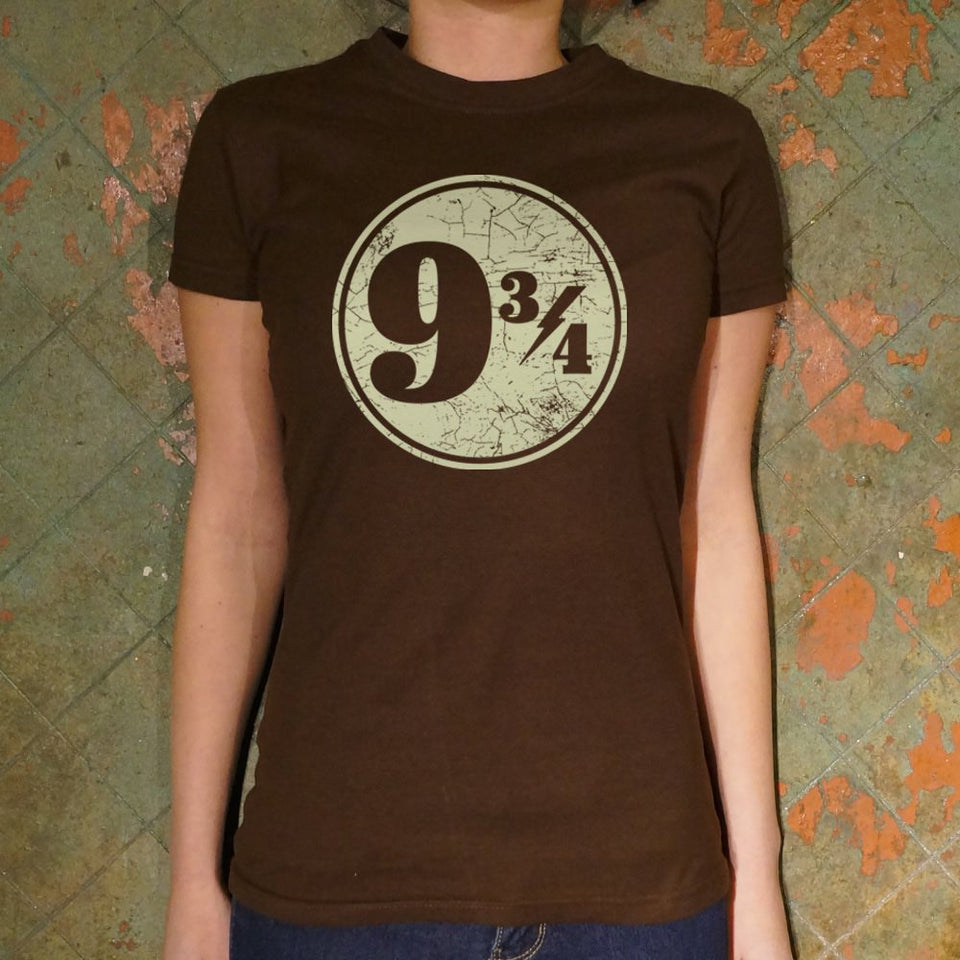 Nine And Three-Quarters T-Shirt (Ladies)