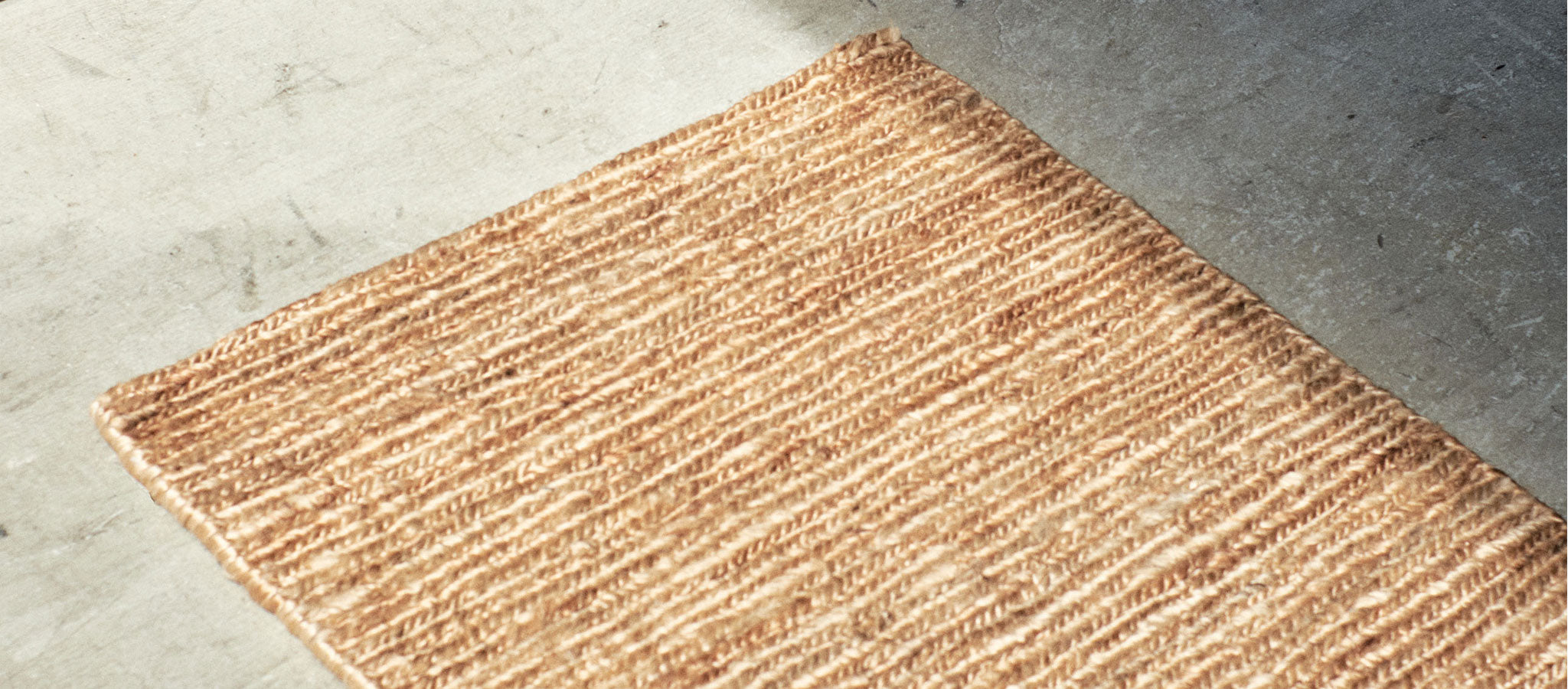 Braided jute Entrance mat banner