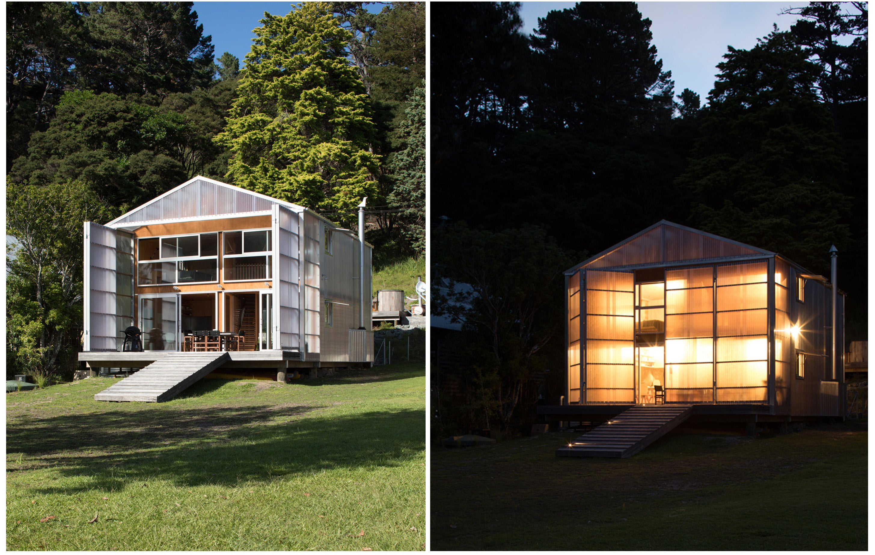 Kawau Island Batch by Crosson Architects