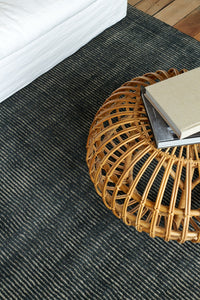 Mini Loop - Natural/Steel, sisal, jute rugs, jute rugs nz, sisal rugs nz, natural rugs, designer rugs