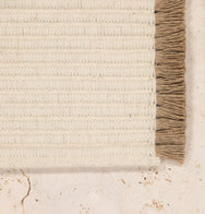 Nodi Rugs Tasseled Wool Colour Dove