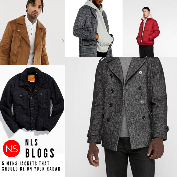 5 Mens jackets that should be on your radar