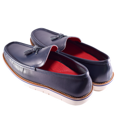 NAVY BLUE MARTIN LOAFER