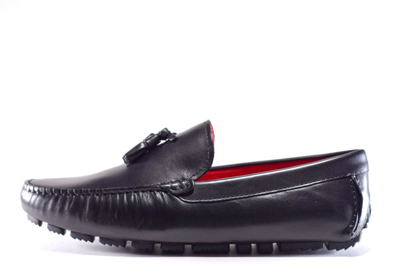 JR LOAFER BLACK - No Lost Sole