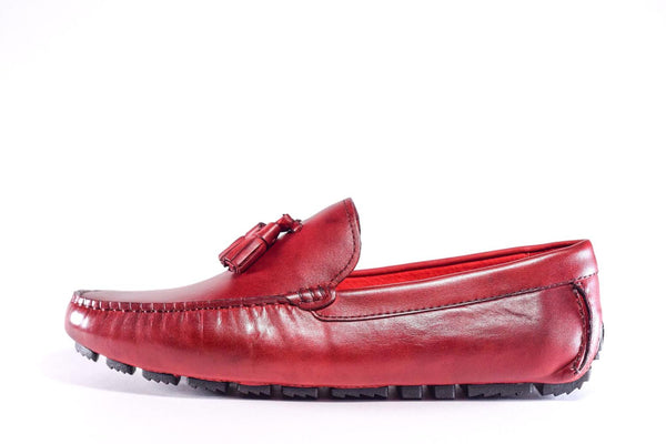 JR LOAFER WINE RED - No Lost Sole