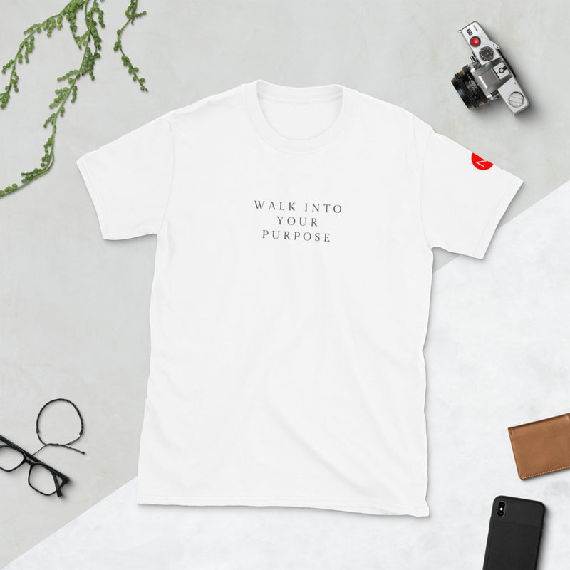 Walk into Your Purpose Short-Sleeve Unisex T-Shirt - No Lost Sole