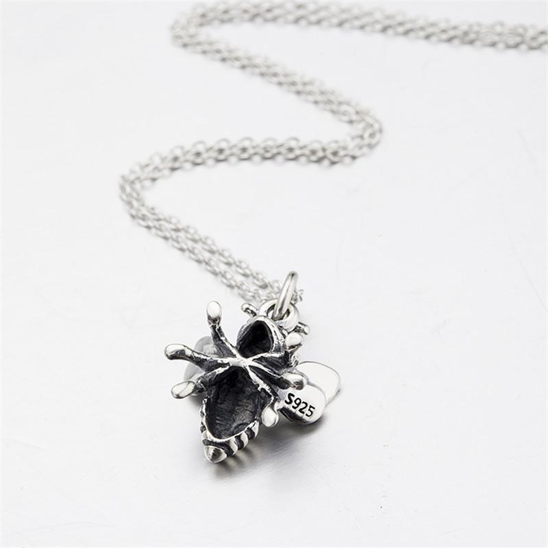 Genuine 925 Sterling Silver Bumble Bee Charm Pendant izk6UUrPSv
