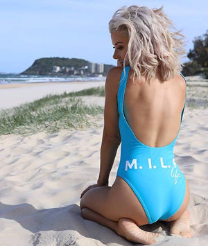 M.I.L.F life Destiny Swimsuit - Miami Blue