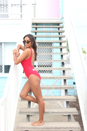 M.I.L.F life Destiny Swimsuit - Runaway Red