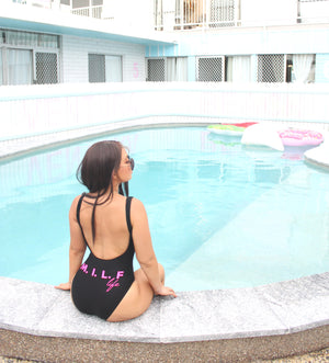 M.I.L.F life Destiny Swimsuit -  Midnight Black