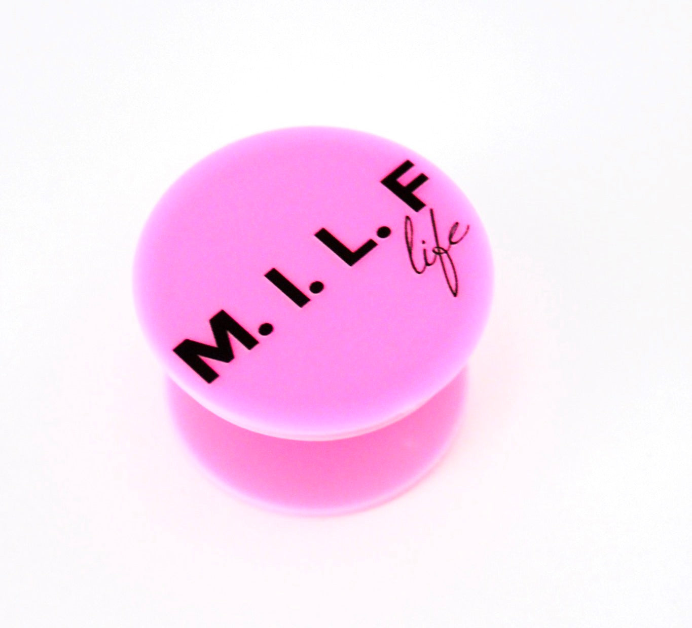 M.I.L.F life pop socket – Pink