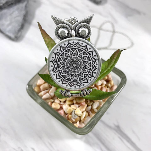 Zen Owl Necklace