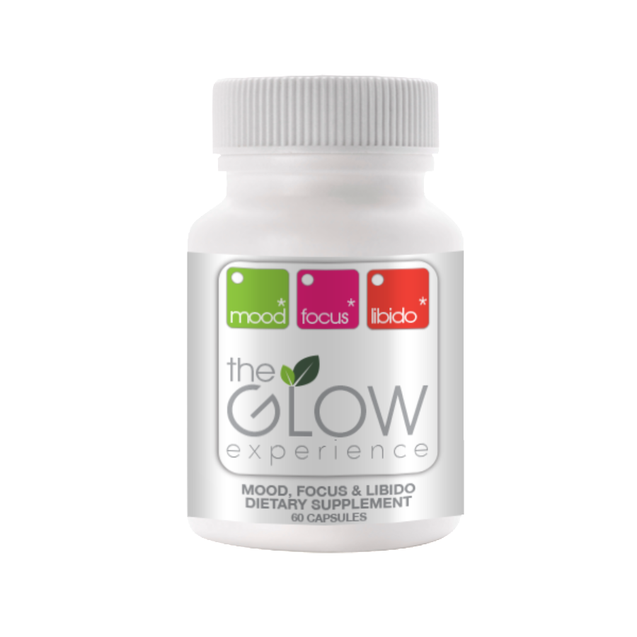 1 Glow Bottle, 30 Day Supply - 60 Vegetable Capsules