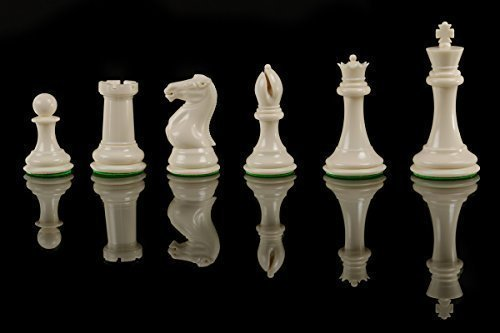 Quadruple Weight Tournament Staunton Chess Pieces