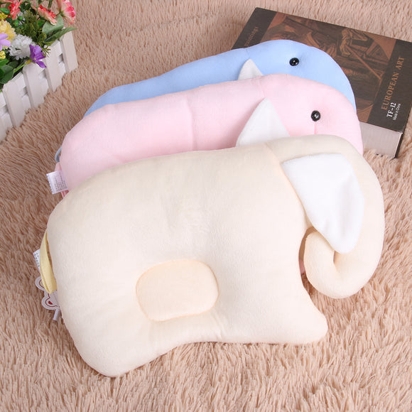 Soft Fleece Baby Pillow - 5 Storks